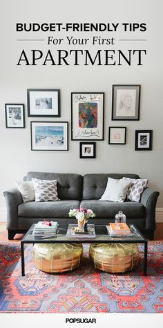 Money-Saving Tips For Decorating Your First Apartment 2019 Decorating your first apartment. Or just cleaver ideas for apartment living. The post Money-Saving Tips For Decorating Your First Apartment 2019 appeared first on Apartment Diy. Small Apartment Decorating, Interior, Home, Apartment Living Room, Living Room Decor, Interior Design, Home And Living, First Apartment Decorating, Apartment Style