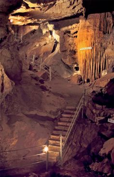 I have been here!!!   Organ Cave, located South of Lewisburg West Virginia is one astounding natural landmark.  The cave contains the largest collection of saltpeter vats in the U.S., mined during the Civil War for making gunpowder.