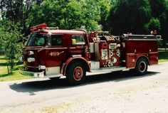 Old Engine 5 (second) is assigned to East Roane County Volunteer Fire Department - Station 5 - Lawnville in Kingston, TN