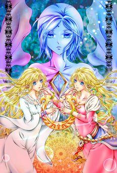 The Legend of Zelda Skyward Sword / Zelda - Hylia and Fi / 「ゼルダとファイ」/「村喜由美」の漫画 [pixiv]