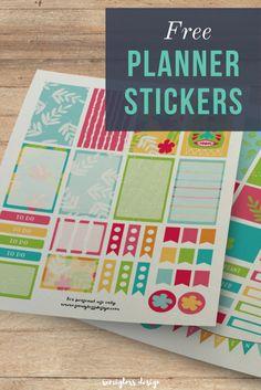 Free planner sticker