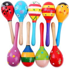 Cheap sand hammer, Buy Quality ball rattle directly from China rattle toys Suppliers: 1 pcs Kids Wooden Ball Rattle Toy Sand Hammer Rattle Educational Learning Musical Instrument Percussion For Baby Month Hot Baby Musical Instruments, Musical Toys, Toddler Gifts, Gifts For Kids, Instrument Percussion, Baby Galerie, Wooden Baby Toys, Music Gifts, Baby Rattle