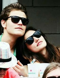 The Vampire Diaries ... Paul Wesley and Phoebe Tonkin as Stefan and Hayley