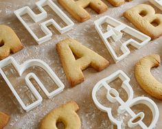 Cookie Cutter Helvetica Style 3D Printed by Flowalistik