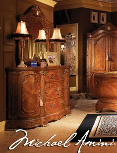 """op-by-brand/aico-michael-amini/shop-by-collection/cortina-honey-walnut.html"""">View entire Cortina collection<br> <a href=""""http://www.warehousedirectusa.com/shop-by-brand/aico-michael-amini.html"""">View more products from AICO / Michael Amini</a></br></p> </p></u>"""