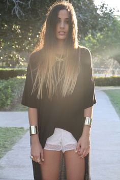 Straight Ombre Hair, finally found something that would give me an idea of what it would look like. Definitely doing this!