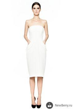 La Mania SS 2013 Dresses For Work, Formal Dresses, Spring Summer, Women's Fashion, Wedding, Clothes, Short Dresses, Casamento, Kleding