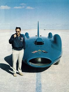 Donald Campbell and Bluebird.