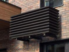 Air Conditioner Cover Indoor, Window Air Conditioner, Pac Piscine, Ac Unit Cover, Flush Door Design, Window Ac Unit, Detail Architecture, Air Conditioning Units, Balcony Design