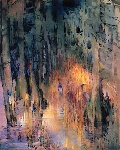 Alice Ravenel Huger Smith, Bayou Scene , 1920 Alice Ravenel Huger Smith (1876-1958) was an American painter from South Carolina. Growi...