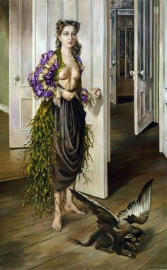Birthday (Self Portrait)---Dorothea Tanning