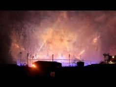 Closing Ceremony-- London Olympic 2012  Fireworks HD 1080p