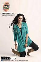Latest Leisure club Fall Collection 2012 ~ Latest Pakistani Fashion,Bollywood Fashion,Hollywood Fashion,Ladies Fashion,Men Fashion.