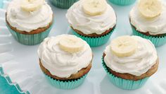 For a handheld treat that takes the cake, try these cute confections -- they combine the flavor of classic banana bread with a creamy spiced frosting.