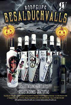 #halloween #degustacionesgratuitas #bodeguesbesalduchvalls