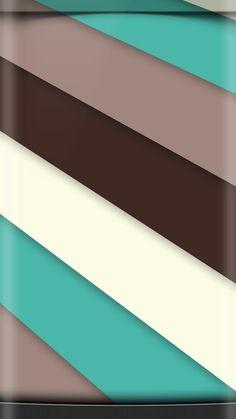 Neutral Wide Stripes Wallpaper