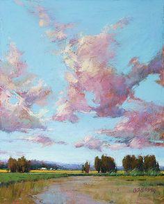 Valley Spring by Susan Ogilvie Pastel ~ 20 x 16