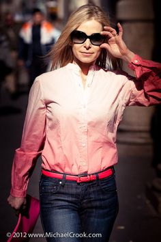 Think Pink http://p.ost.im/p/eVGnLU I want this @mrmrsbenson shirt. #ombre #pink http://www.mrmrsbenson.com/