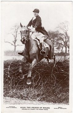 point to point HRH Edward, The Prince of Wales later Edward VIII