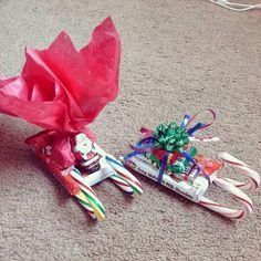Candy santa sleigh