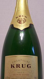 Thomas Crown Affair (1991) starring Pierce Brosnan, Rene Russo. Champagne Krug - Grand Cuvee 1981 $600 Crown orders it at Cipriani's on first date with Catherine.