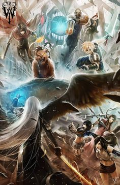 Final Fantasy VII by Wizyakuza