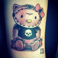 Is that Hello Kitty in a Jason mask? Artist is Corey Miller