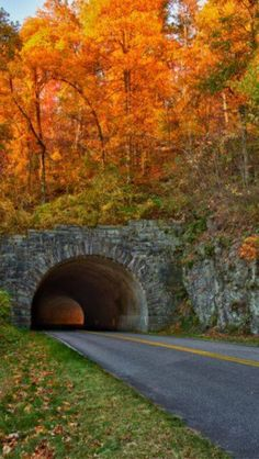 ALWAYS, ALWAYS BLOW  YOUR HORN!!!!  Tunnel to Gatlinburg Tennessee
