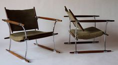 "Pair of ""Stokke"" Easy Chairs by Jens Herald Quistgaard, 1965 