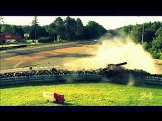 Anthony Davidson Toyota #8 Massive Crash - Le Mans 24 Hours 2012