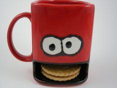 Cookie Tasse aus Keramik von Dreamceramics - Exklusive Geschenkideen und Dekorationen aus Keramik auf DaWanda.com