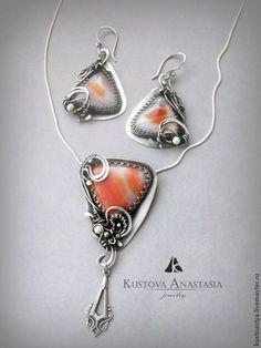 Украшения из ювелирной проволоки Кустовой Анастасии