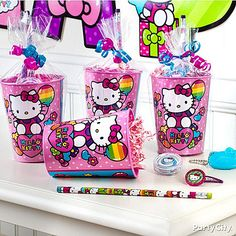 Hello Kitty Party Ideas: Favors - Click to View Larger