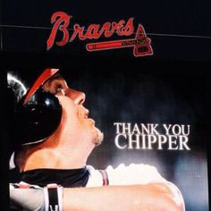 Tomahawk Chop, Chipper Jones, Braves Baseball, Atlanta Braves, Larry, Jr, Career, Idol, Game