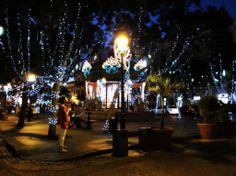 Christmas in Puerto Rico | San Juan's Plaza de Armas, decked out for the holidays. via Cafe Con ...