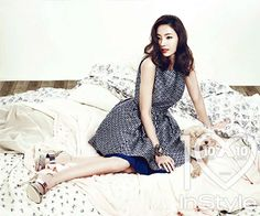 Han Chae Young Elegant Chic Fashion for InStyle 2013 March Issue