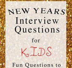 New Years Kids Interview