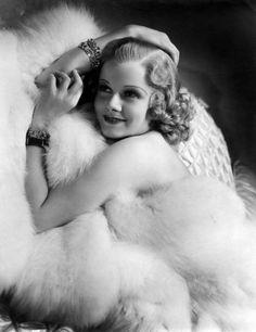 Jean Harlow bare white