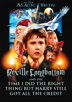 Book 1: | If The Harry Potter Books Were Written From Neville's Perspective