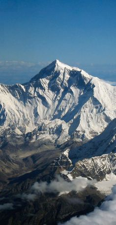 """""""The summit of Mount Everest is marine limestone. This one fact is a treatise in itself on the movements of the surface of the Earth."""" - John McPhee"""