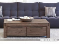 HAMBURG Acacia 4 Drawer Coffee Table , Living Room, NZ's Largest Furniture Range with Guaranteed Lowest Prices: Bedroom Furniture, Sofa, Couch, Lounge suite, Dining Table and Chairs, Office, Commercial & Hospitality Furniturte