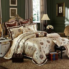 Decorate your bedroom with our quality duvet cover and bedding set collections that adds comfort, relaxation, style, luxury and elegance to your bedroom.