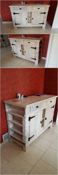 Pallet entryway table are best option for your living room in the usage of the best wood pallet projects. You can take it as the form of the cupboard cabinet that is small in size and it located alongside the side portion of the wall. The best feature of this design is that it comprised of the pallet entryway that gives out the whole pallet design with innovative looks.