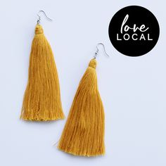 The perfect addition to just about any outfit! Some variations may occur. Please look after me by gently combing me before and after use. Drop Earrings, Outfit, Handmade, Shopping, Accessories, Hand Made, Outfits, Chandelier Earrings, Drop Earring