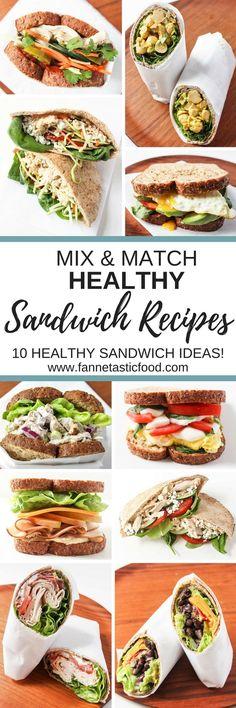 Healthy Sandwich Recipes
