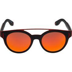 bc95cb490d65f Black   Red Aviator Sunglasses - Gold Label Accessories - Women s Gold  Label - Edits