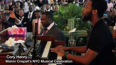 "Cory Henry's solo Tribute to Melvin Crispell ""Wonderful is your name"""