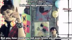 4minute-what a girl wants(subs)