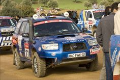 Forester rally car - Google Search