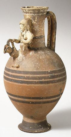 Terracotta jug | Cypriot | Cypro-Classical I, ca. 475–400 B.C. | The Met